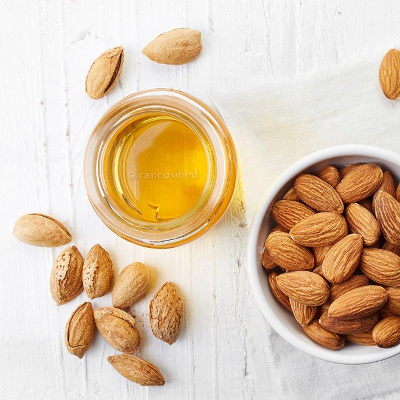 ایران کازمد organic-almond-oil-irancosmed-2-du-2019-10-10-07-55-7604 روغن بادام شیرین اصل و خالص | روغن بادام شیرین ارگانیک ایران کازمد