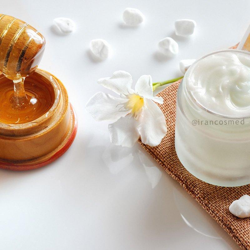 کرم آبرسان و تقویت کننده گیاهی   کرم عسل طبیعی