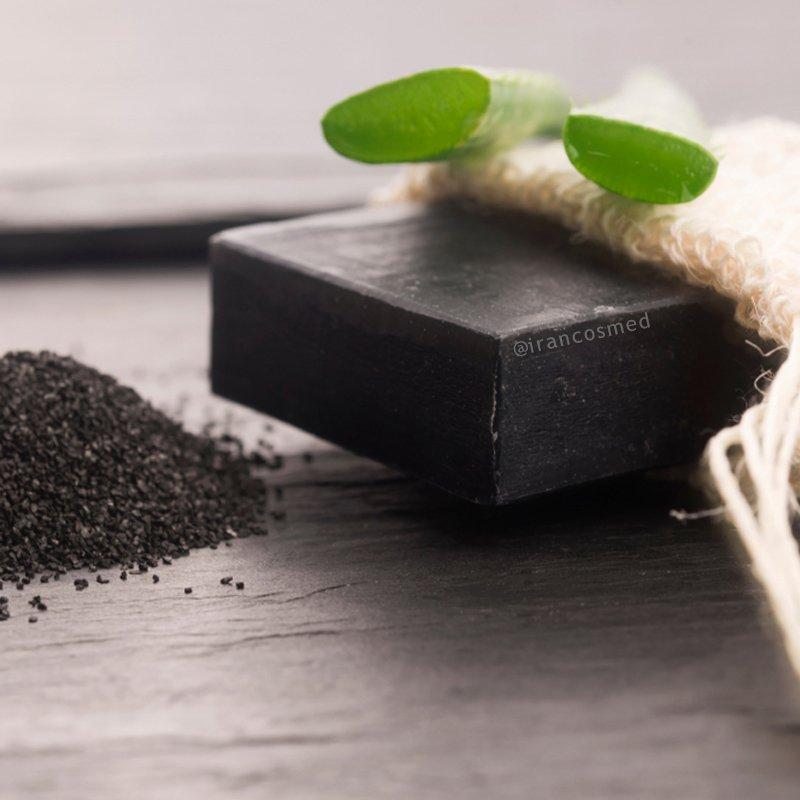صابون زغال و آلوئه ورا | صابون ایران کازمد